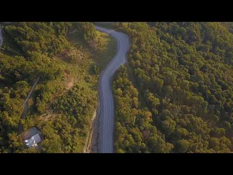 Pine Mountain, Whitesburg, KY. First real video with my new Mavic pro!
