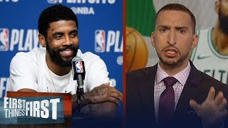 Kyrie Irving was spectacular in Celtics' Game 2 win - Nick Wright | NBA | FIRST THINGS FIRST