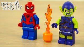 зелёный Гоблин снова в деле!  LEGO Spider-Man 76133 Обзор