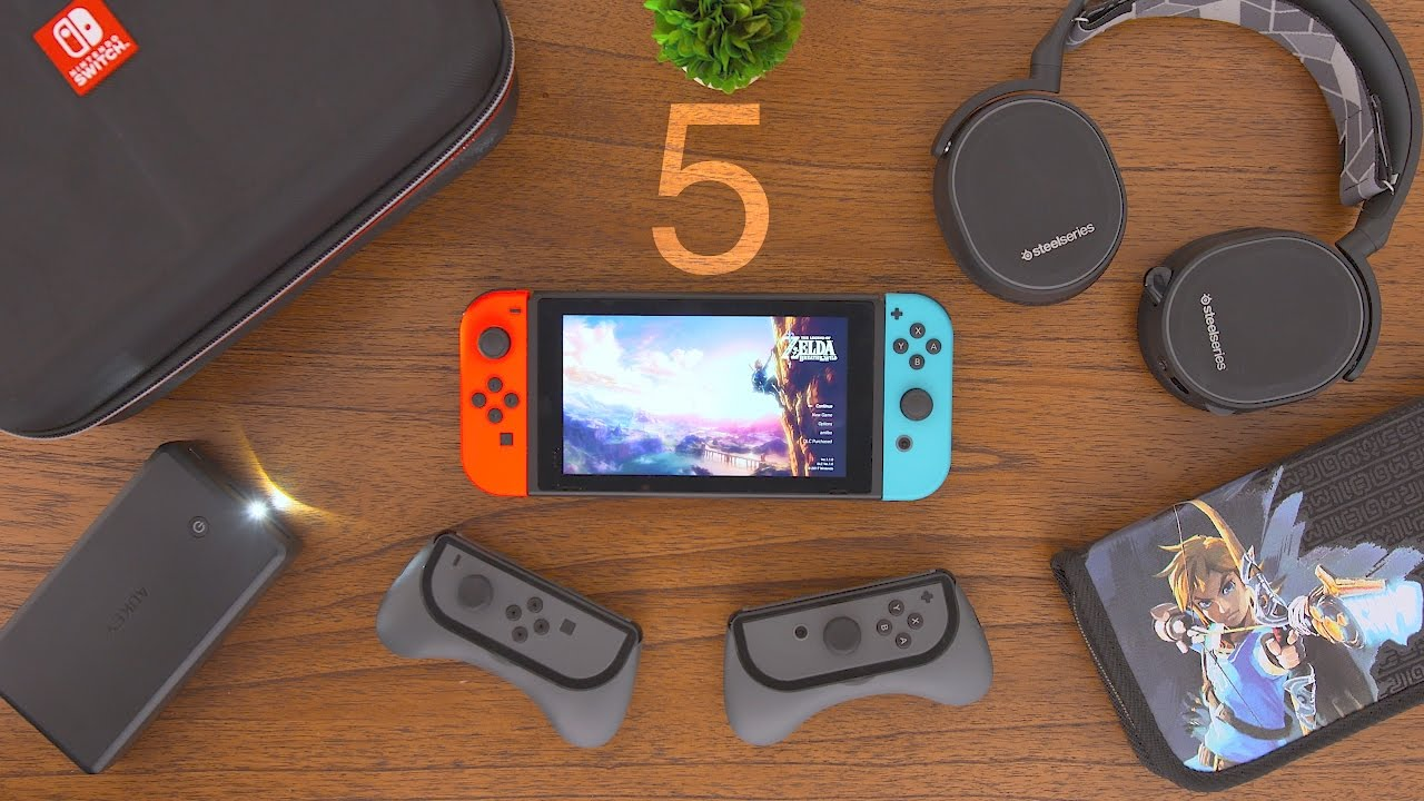 5 must have nintendo switch accessories youtube. Black Bedroom Furniture Sets. Home Design Ideas