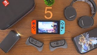 5 MUST HAVE Nintendo Switch Accessories!