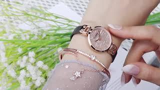 Cadisen женские часы ультра тонкие наручные роскошные модные montre femme 2019 кварцевые relogio