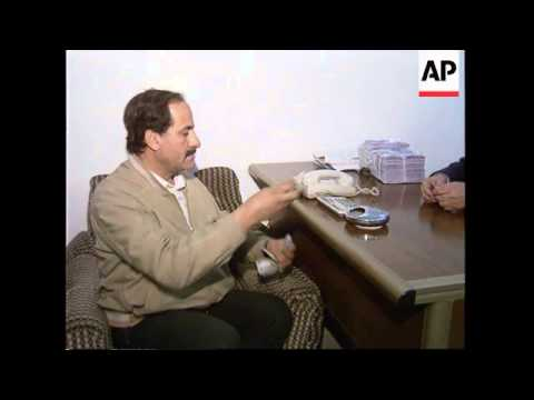 IRAQ: UN AND IRAQ BEGIN TALKS ON TRADE SANCTIONS