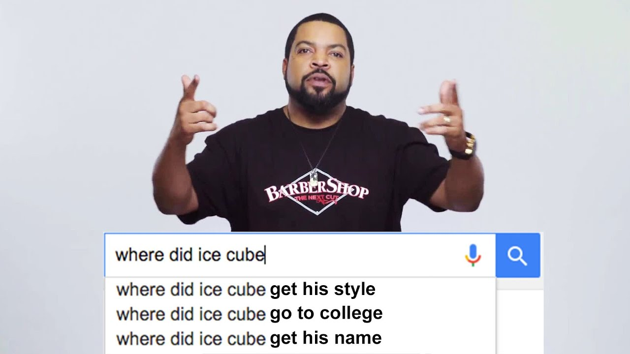 Ice Cube Answers The Web\'s Most Searched Questions | WIRED - YouTube