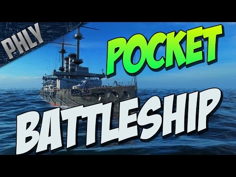 World Of Warships - Pocket BATTLESHIP - AKA The Mikasa BRAWL