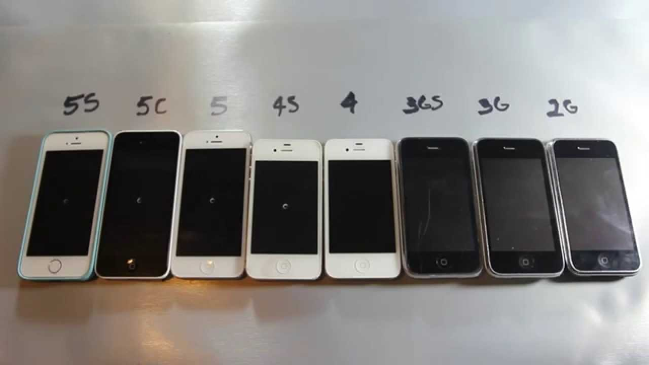 all the iphones ever made all iphones made in one must 16565