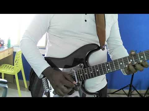 Blues guitar playing