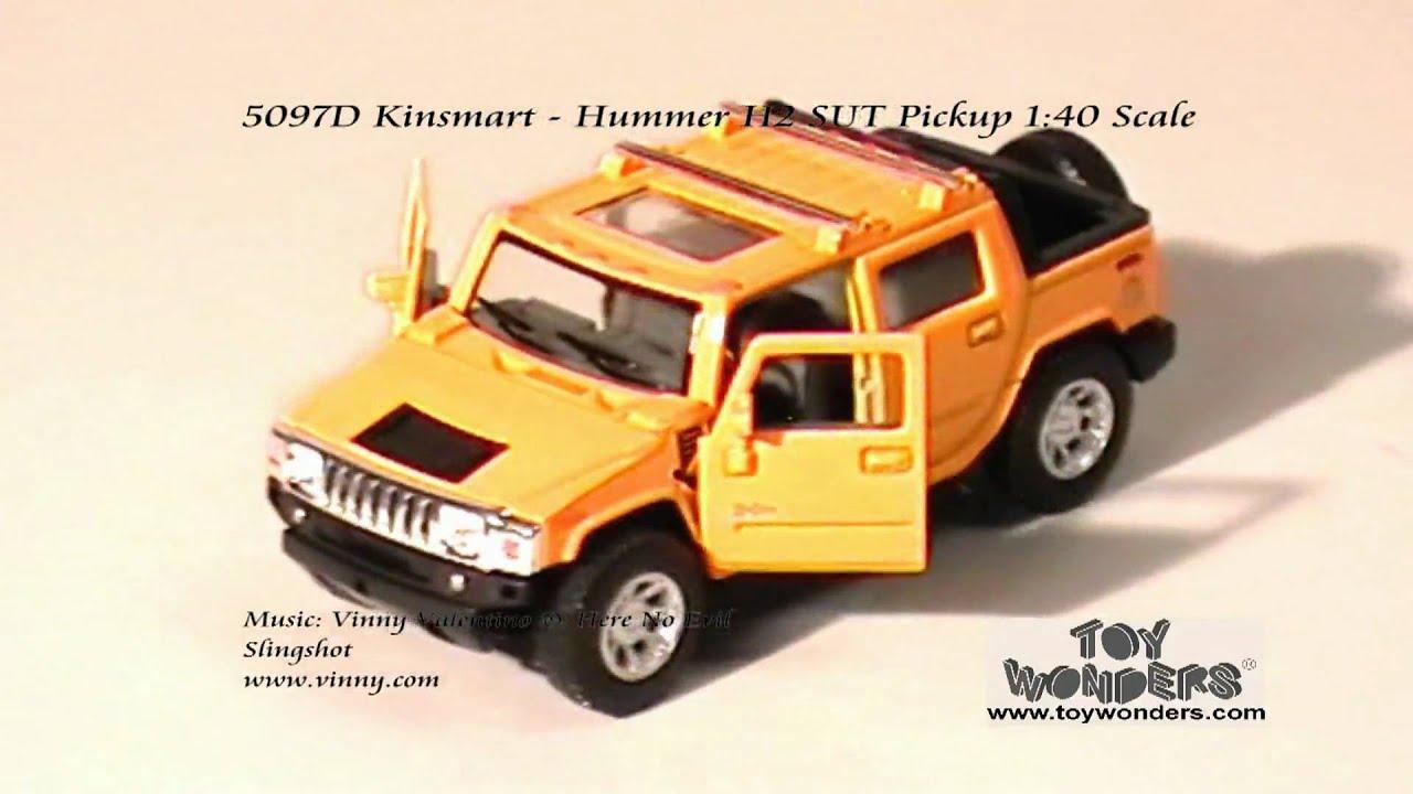 5097D Kinsmart Hummer H2 SUT Pickup 140 Diecast Wholesaleg