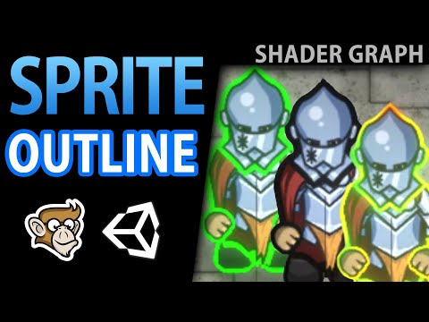 Sprite Outline (Animated!) - 2D Shader Graph Tutorial thumbnail