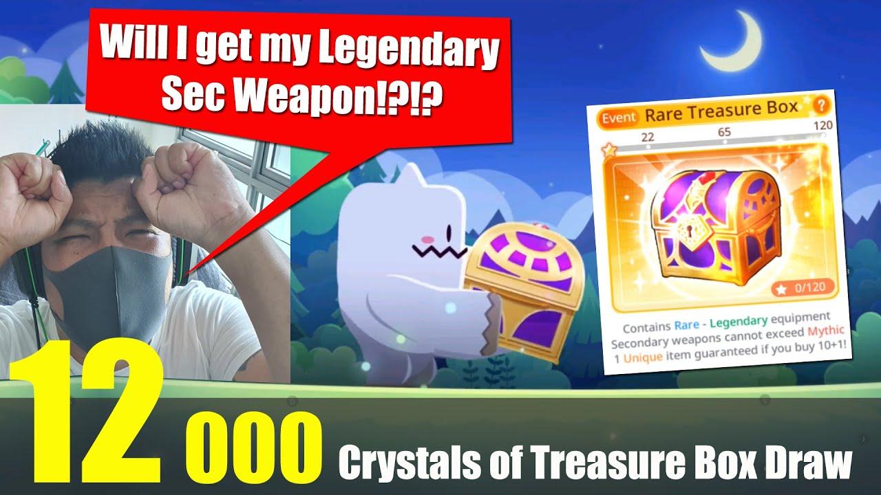 Maplestory m - 12000 Crystals of Treasure Box Pull