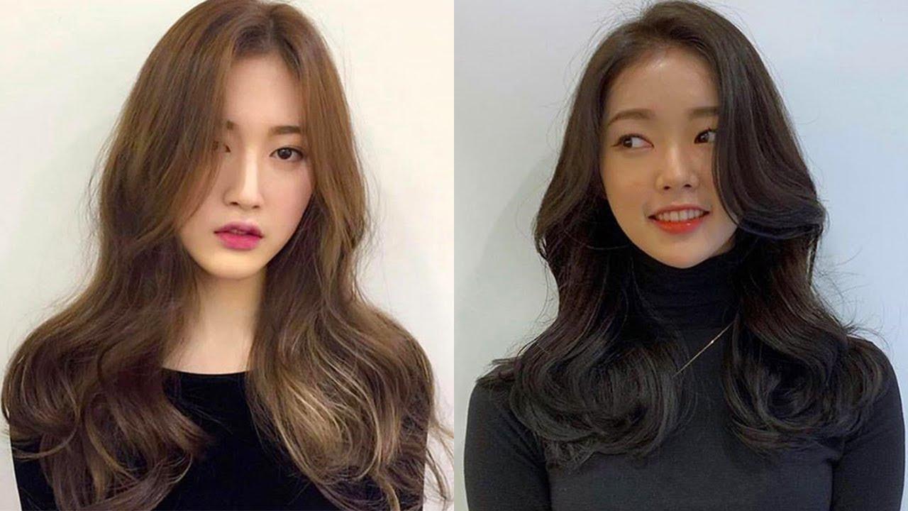 Long Hair Korean Hairstyles Women Novocom Top