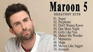 The best songs of Maroon 5 (Maroon 5 greatest hits)