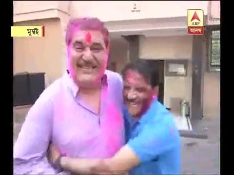 Watch: Actor Raza Murad is celebrating Holi festival