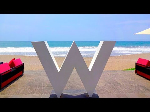 W Retreat & Spa Bali in Seminyak | Hotel Tour