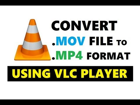 How to convert .mov to .mp4 using vlc media player | Simple & Quick Way