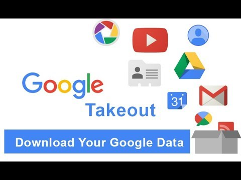 HOW TO DOWNLOAD ALL YOUR GOOGLE DATA | GOOGLE TAKEOUT
