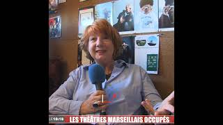 Les théâtres marseillais occupés