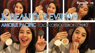 K-Beauty Review: AMORE PACIFIC Color Control Cushion Compact
