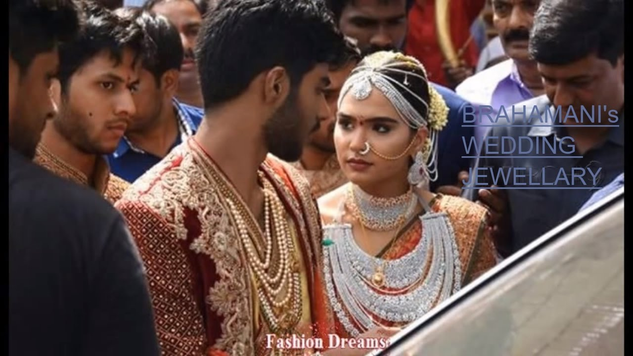 GALI JANARDHAN REDDY DAUGHTER WEDDING JEWELLERY DESIGNS   YouTube