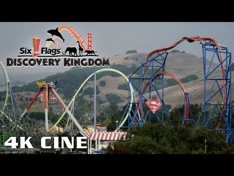 Cinematic Six Flags Discovery Kingdom October 2018 Fright Fest