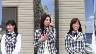 2013年5月19日 岩手県宮古市、宮古駅前広場にてAKB48による被災地訪問 ...