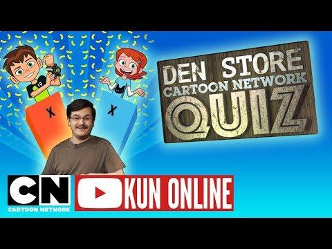 Den Store Cartoon Network Quiz | Hele Episode 3 med Ben 10 | Dansk Cartoon Network