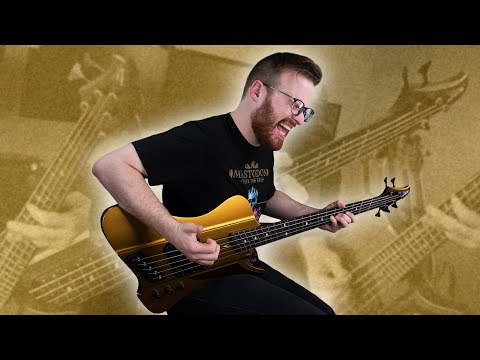 This Bass Is GOLDEN! - Dingwall D-Roc Custom [Demo]