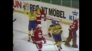 Hockey-VM 1981,  Sverige - Kanada 4-3.