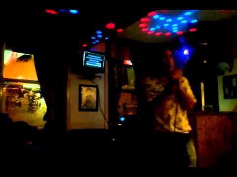 Lee Holt , Pub Karaoke , Killers - Mr Brightside , Gt Harwood , 18/5/12