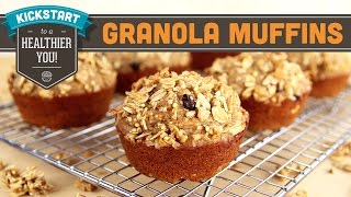 Granola Muffins With Kind Snacks! Mind Over Munch Kickstart Series