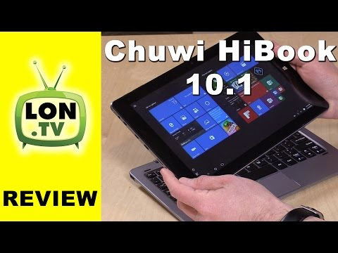 Chuwi HiBook 10.1 Review - Runs both Windows and Android ! Dual boot tablet