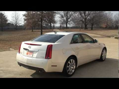 2008 Cadillac Cts White Navi For Sale See Www Sunsetmilan