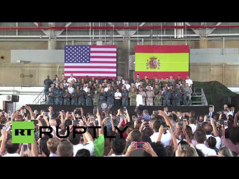 Spain: Obama thanks Spain for hosting American service personnel