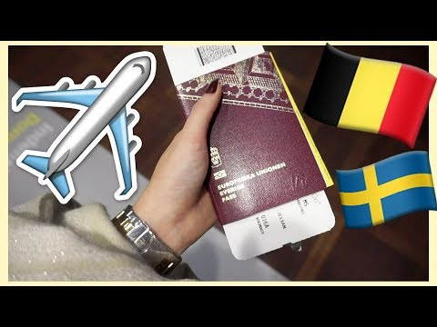 TRAVELING TO BELGIUM ALONE! | DAY 1 VLOG | I GOT A HORRIBLE HOTELROOM!
