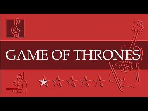 ViolinNotes Tutorial - Game of Thrones - Theme (Sheet music)