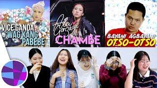 Download lagu Koreans React to OPM #16 (Alex Gonzaga, Vice Ganda, Bayani Agbayani) | EL's Planet