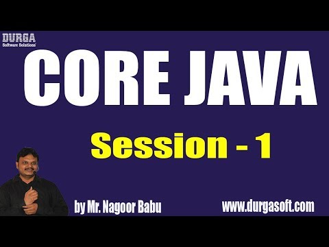 core-java-online-training-||-session---1-||-by-mr.-nagoor-babu-on-14-06-2019-at-10am
