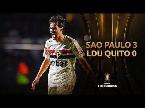 São Paulo vs. LDU Quito [3-0]   GOLES   CONMEBOL Libertadores 2020