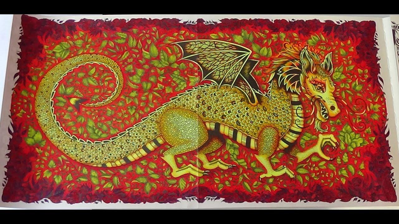 enchanted forest dragon original - photo #12