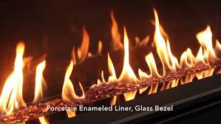C44 Linear Gas Fireplace Burn Example