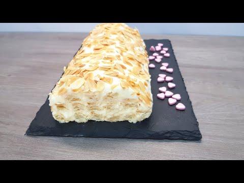 Tienes que probar esta deliciosa Tarta de Hojaldre con Crema! #96