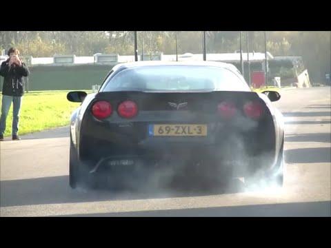 Cars and Coffee Rotterdam: Aventador, F12, Z06, Tomaso Pantera GTS!