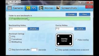Tutorial: Como usar o Fraps,para gravar jogos e tbm gravar o seu desktop.