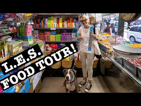LOWER EAST SIDE FOOD TOUR: Candy, Pickles, Bialys & Doughnuts NYC