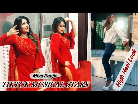 Miss Pooja ।All TikTok Fun। Dance। Acting। Punjabi Suit Look।High Dance ।@themisspooja