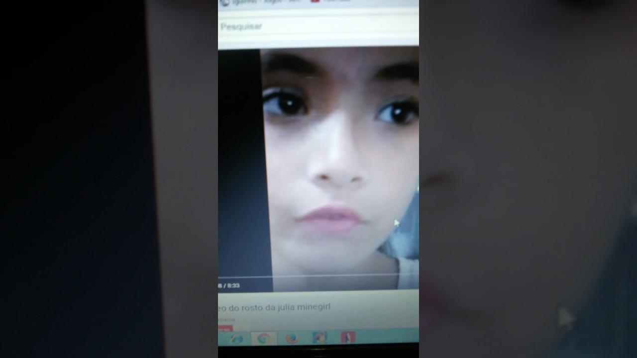 Desmascarando O Rosto Da Julia Maine Girl Youtube