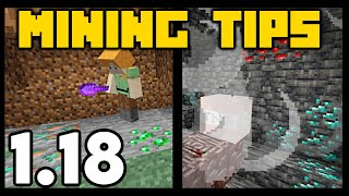 New Mining Tricks for 1.17 Minecraft Cave Update