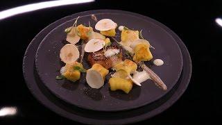 Gnocchi de pommes de terre, purée de champignons et escalope de foie gras par Denny Imbroisi (#DPDC)