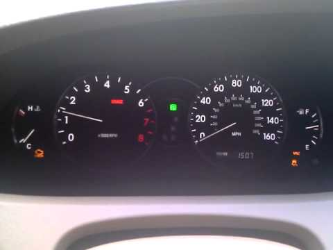 2006 Toyota Avalon Xls Check Engine And Vsc Lights On