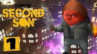 Прохождение inFamous: Second Son (PS4/RUS) - #1 Два брата